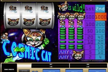 Cosmic cat MCPcom Microgaming