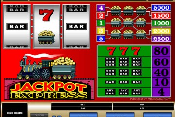 Jackpot Express MCPcom Microgaming
