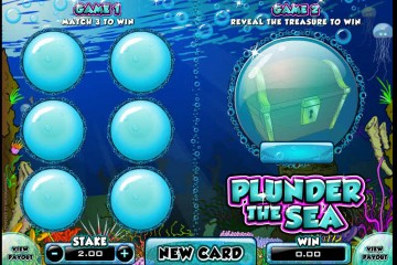 Plunder The Sea MCPcom Microgaming
