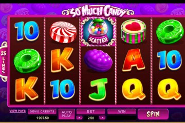 So Much Candy MCPcom Microgaming