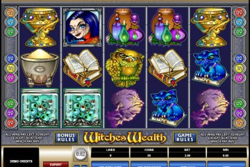 Witches Wealth MCPcom Microgaming