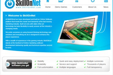 SkillOnNet site main page
