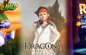Three New Game Geleases to Casino Room today - Gorilla Go Wild, Dragon's Myth and Rabbit in the Hat