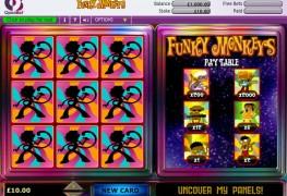 Funky Monkey Scratch Card MCPcom OpenBet