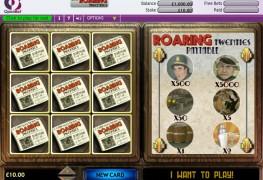 Roaring 20s Scratch Card MCPcom OpenBet
