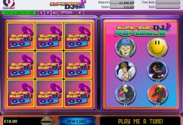 Super Star DJ Scratch Card MCPcom OpenBet
