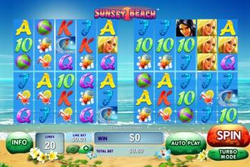 Sunset Beach MCPcom Playtech
