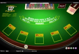 Perfect Pairs Blackjack MCPcom Amaya (Chartwell)