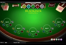 Sidebet Blackjack MCPcom Amaya (Chartwell)