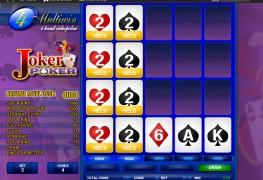 4H Joker Poker MCPcom Espresso Games