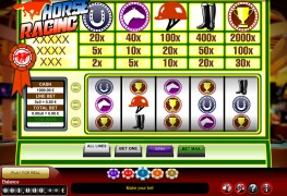 Horse Racing MCPcom Gamescale
