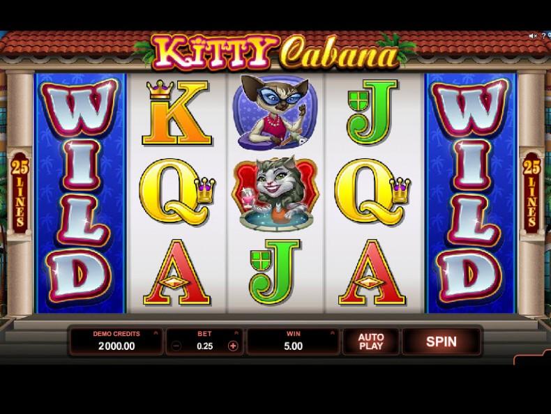 Kitty Cabana MCPcom Microgaming