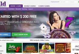 Wild Jackpots Casino MCPcom home