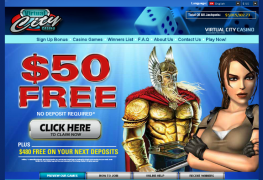 Virtual City Casino MCPcom home