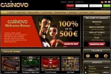 Casinovo MCPcom home