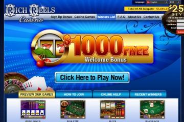 Rich Reels Casino MCPcom home
