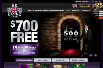 UK Casino Club MCPcom home