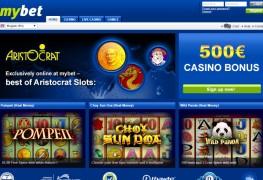 Mybet Casino MCPcom home