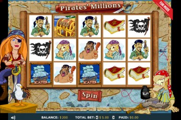 Pirates Millions MCPcom 888 Holdings