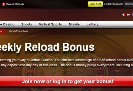 Jetbull Casino MCPcom bonus reload