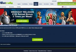 Betrally Casino MCPcom bonus