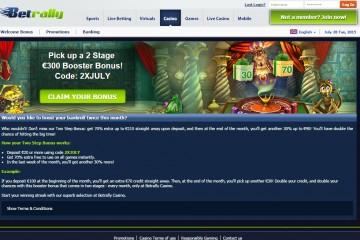 Betrally Casino MCPcom bonus