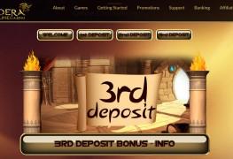 Dendera Casino MCPcom bonus