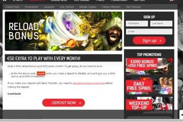 Redbet Casino MCPcom bonus