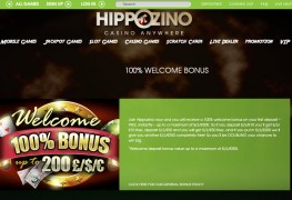 Hippozino Casino MCPcom bonus