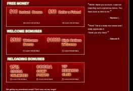 Cocoa Casino MCPcom bonus