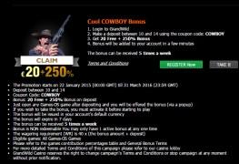 GrandWild Casino MCPcom bonus2