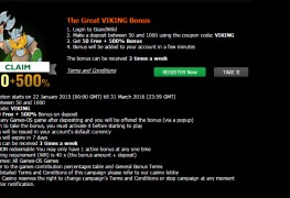 GrandWild Casino MCPcom bonus5