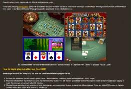 Captain Cooks Casino MCPcom bonus
