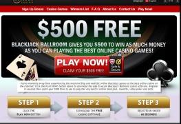 Blackjack Ballroom Casino MCPcom bonus