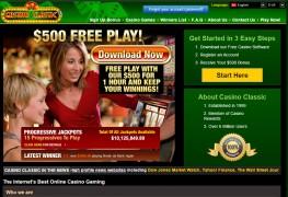 Casino Classic MCPcom bonus
