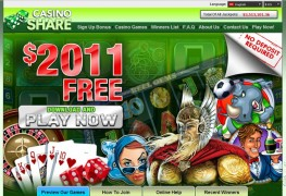Casino Share MCPcom home