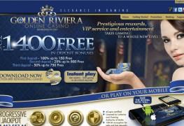 Golden Riviera Casino MCPcom home