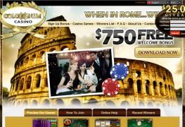 Colosseum Casino MCPcom home
