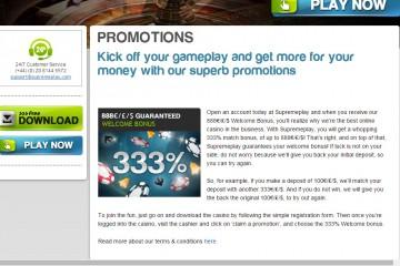 Play2win Casino MCPcom bonus
