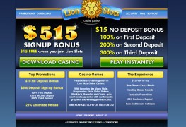 LionSlots Casino MCPcom home