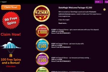 Slots Magic Casino MCPcom bonus