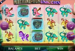 Machine Gun Unicorn Video slots by Genesis Gaming MCPcom