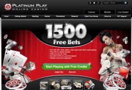Platinum Play Casino MCPcom home