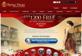Royal Vegas Casino MCPcom