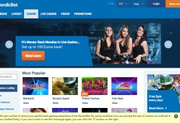 NordicBet Casino MCPcom home