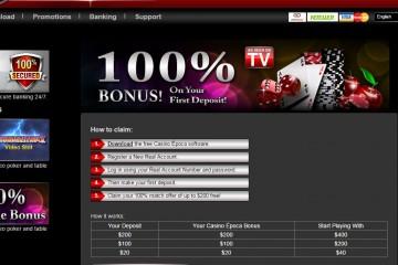 Epoca Casino MCPcom bonus