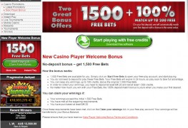 Platinum Play Casino MCPcom bonus