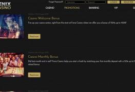 Fenix Casino MCPcom bonus