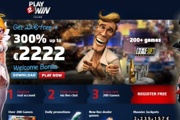 PLAY2WIN CASINO MCPcom bonus