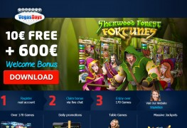 Vegas Days Casino MCPcom bonus